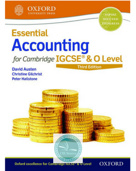 9780198424833, Essential Accounting for Cambridge IGCSE & O Level: Student Book (Second Edition)Releases April 2018 - CIE SOURCE