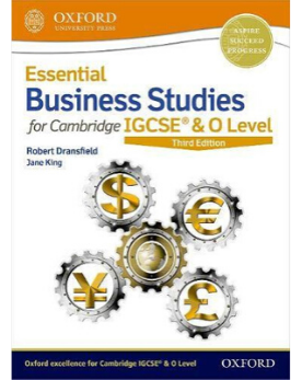 9780198424864, Essential Business Studies for Cambridge IGCSE & O Level: Student Book (Second Edition) (New 2018)