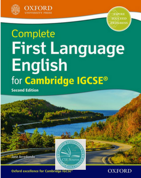 9780198424987, Complete First Language English for Cambridge IGCSE: Student Book (Second Edition) New 2018