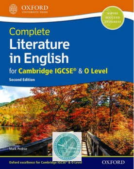 Complete Literature in English for Cambridge IGCSE & O Level: Student Book (Second Edition) New 2018