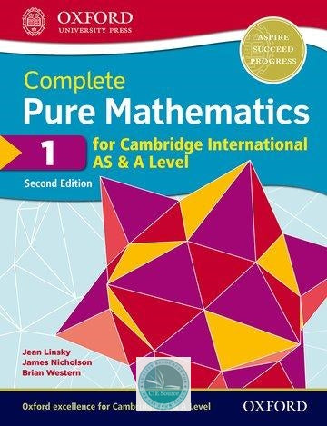 9780198425106, Complete Pure Mathematics 1 for Cambridge International AS & A Level: Student Book 2/e (New 2018)