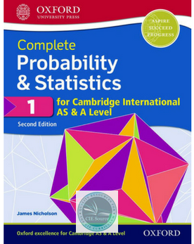 9780198425151, Complete Probability & Statistics 1 for Cambridge International AS & A Level: Student Book 2/e (New 2018)