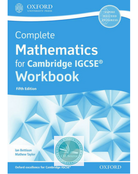 9780198428114, Complete Mathematics for Cambridge IGCSE: Core & Extended Workbook (Fifth Edition) (New 2018)