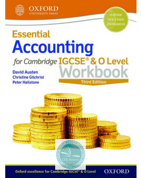 Essential Accounting for Cambridge IGCSE & O Level: Workbook (Second Edition) Releases October 2018