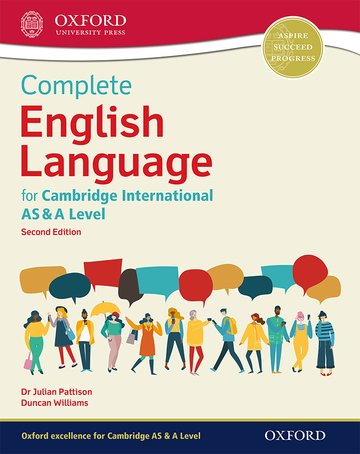Complete English Language for Cambridge International AS & A Level (NYP Due April 2019)