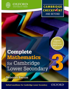 9780199137107, Oxford International Math for Cambridge Secondary 1 Student Book 3