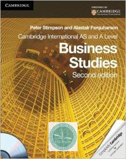 9780521126564, Cambridge International AS and A Level Business Studies: Coursebook with CD-ROM