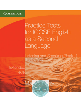 9780521140546, Practice Tests for IGCSE® English as a Second Language: Listening and Speaking: Extended Level Book 1 Audio CDs