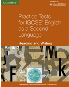 9780521140645, Practice Tests for IGCSE® English as a Second Language:  Reading and Writing: Book 2
