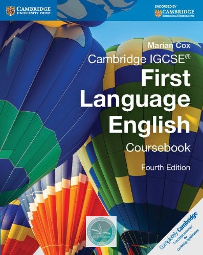 Cambridge IGCSE First Language English Coursebook with Free Digital Content - CIE SOURCE