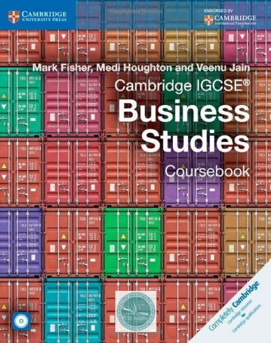 Cambridge IGCSE- Business Studies Coursebook with CD-ROM - CIE SOURCE