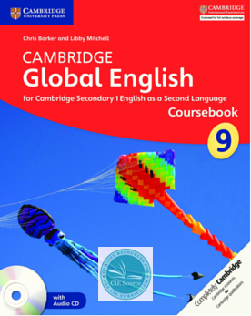 Cambridge Global English Stage 9 Coursebook with Audio CD - CIE SOURCE