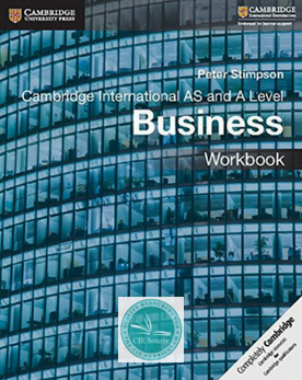 9781108401579, AS and A Level Business Workbook Workbook (New)