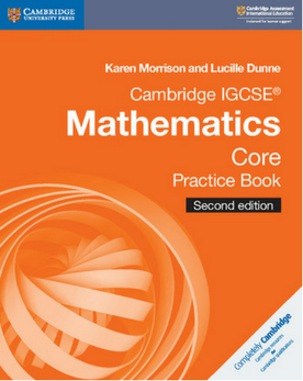 9781108437226, Cambridge IGCSE® Mathematics Core Practice Book  (New 2018)