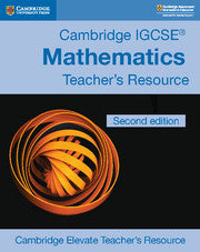 IGCSE Maths Core & Extended Teacher's resource (CD-ROM) ( Not Yet Published July 2018 )