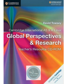 9781108437769, Cambridge International AS and A Level Global Perspectives and Research Teacher's Resource (New 2018)