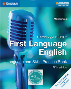 IGCSE First Language English 5th Edition Practice Book (New June 2018)