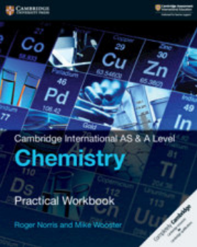 9781108439046, Cambridge International AS & A Level Chemistry Practical Workbook (New 2018)