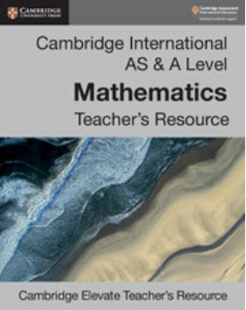 9781108439831, Cambridge International AS & A Level Mathematics Cambridge Elevate Teacher's Resource (New 2018)