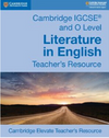 9781108439947, Cambridge IGCSE® and O Level Literature in English Cambridge Elevate Teacher's Resource (New 2018)