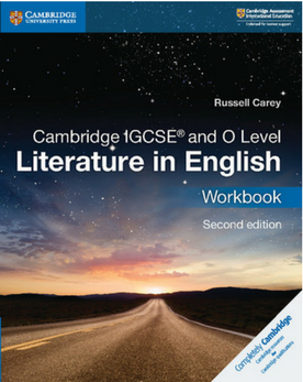 9781108439954, IGCSE Literature in English Workbook (New June 2018)