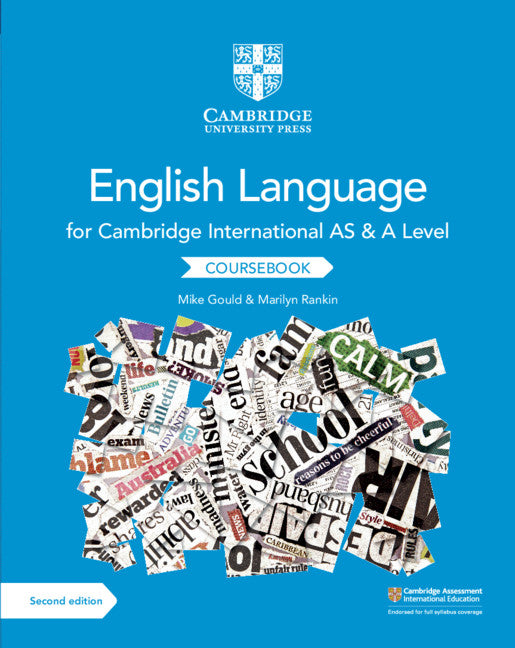 9781108455824, Cambridge International AS and A Level English Language Coursebook (NYP Due April 2019)