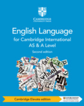 Cambridge International AS and A Level English Language Coursebook Cambridge Elevate Edition (2 Years) (NYP Due April 2019)
