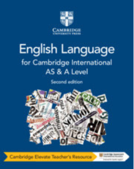 9781108455879, Cambridge International AS and A Level English Language Cambridge Elevate Teacher's Resource (NYP Due April 2019)