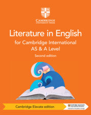 Cambridge International AS & A Level Literature in English Coursebook Cambridge Elevate Edition (2 Years)  (NYP Due April 2019)