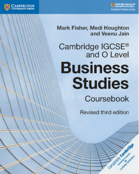 9781108563987, IGCSE and O Level Business Studies Coursebook (New 2018)
