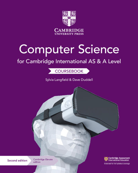 9781108568326, Cambridge International AS and A Level Computer Science Coursebook with Cambridge Elevate Edition (2 Years) - CIE SOURCE