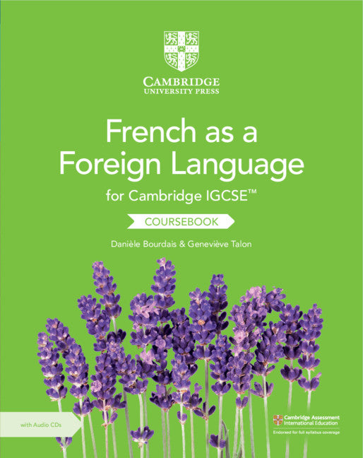 9781108590525, Cambridge IGCSE» French as a Foreign Language Coursebook with Audio CDs (2)