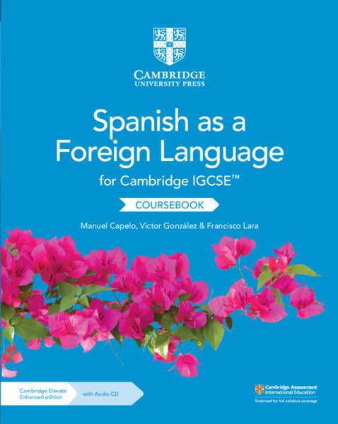 9781108609814, Cambridge IGCSE Spanish as a Foreign Language Coursebook with Audio CD and Cambridge Elevate Enhanced Edition (2 Years)