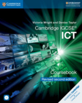 Cambridge IGCSE® ICT Coursebook with CD-ROM Revised Edition (NYP Due March 2019)