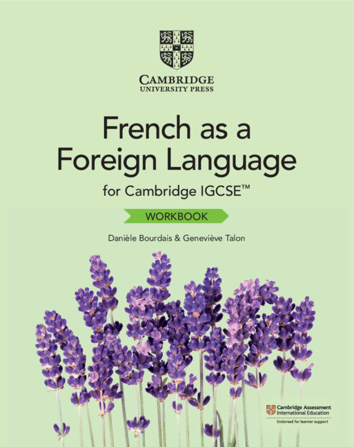 9781108710091, Cambridge IGCSE French as a Foreign Language Workbook