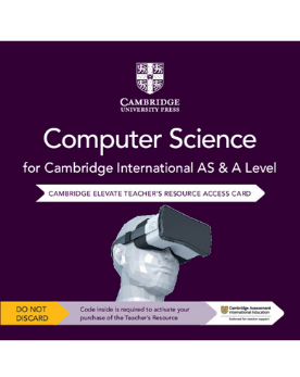 9781108718813, Cambridge International AS & A Level Computer Science Elevate Teacher's Resource Access Card - CIE SOURCE