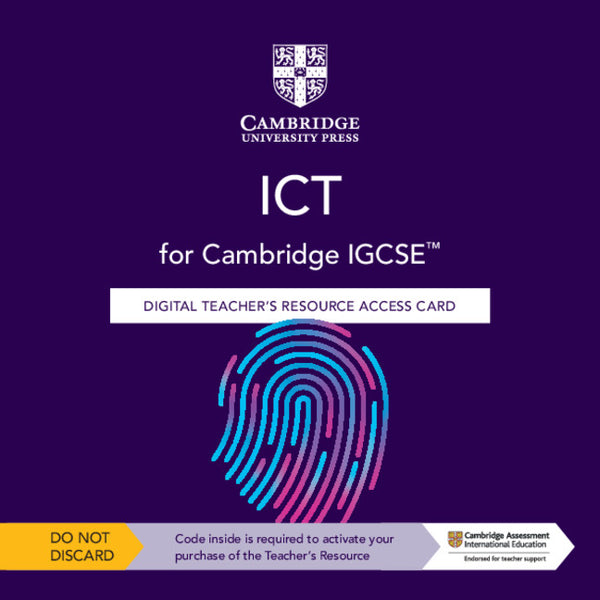 IGCSE ICT 3rd Edition Teacher Resource (Elevate)(NYP Due November 2021)