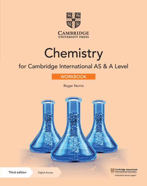 Cambridge International AS & A Level Chemistry Workbook with Digital Access (2 Years)