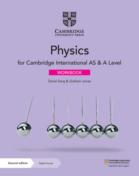 Cambridge International AS & A Level Physics Workbook with Digital Access (NYP Due April 2020)