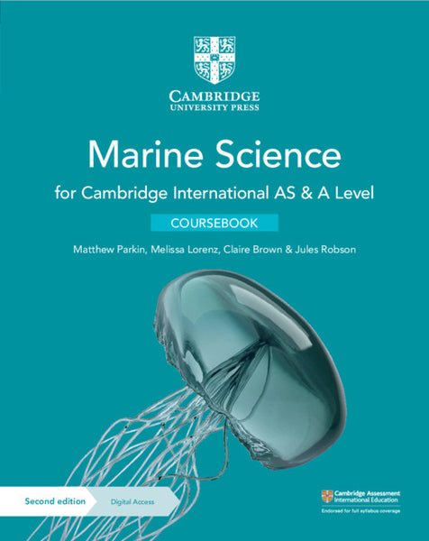 Cambridge International AS & A Level Marine Science Coursebook with Digital Access (2 Years) (NYP Due June 2020)