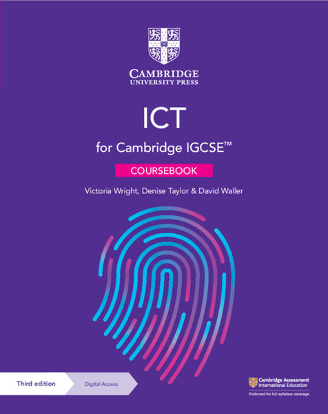 IGCSE ICT 3rd Edition Coursebook (Print & Elevate)(NYP Due November 2021)