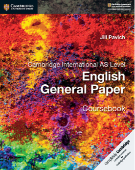 9781316500705, Cambridge International AS Level English General Paper Coursebook (New)