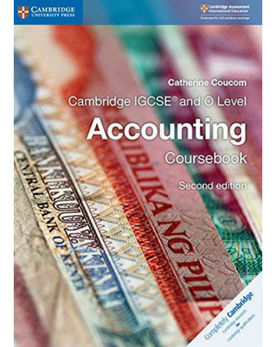 9781316502778, IGCSE and O Level Accounting Coursebook (New 2018) - CIE SOURCE