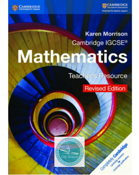 9781316609309, Cambridge IGCSE® Mathematics Teacher's Resource CD-ROM Revised Edition