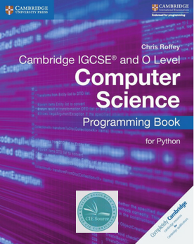 9781316617823, IGCSE Computer Science for Programming - Python Programming Book (Print)