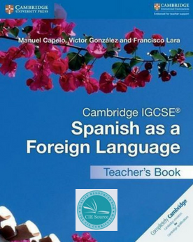 9781316635551, Cambridge IGCSE® Spanish as a Foreign Language Teacher's Book (Cambridge International IGCSE) (Spanish Edition)
