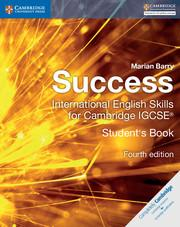 9781316637050, Success International English Skills For Cambridge IGCSE (4ed) Coursebook (print)