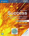 9781316637104, Success International English Skills For Cambridge IGCSE (4ed) Teacher's Book & CD ROM (print)