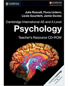 9781316637944, AS and A Level Psychology Teacher book (CD ROM) Teacher Resource (CD-ROM)