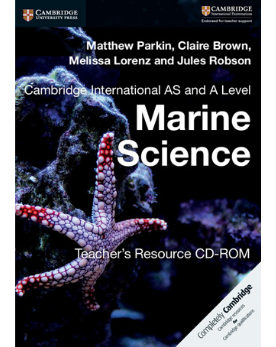 9781316643631, Cambridge International AS and A Level Marine Science Teacher's Resource CD-ROM